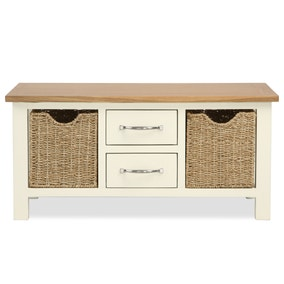 Sidmouth Cream Coffee Table. Loz_20_percent_off_ws15;  Loz_exclusive_to_dunelm