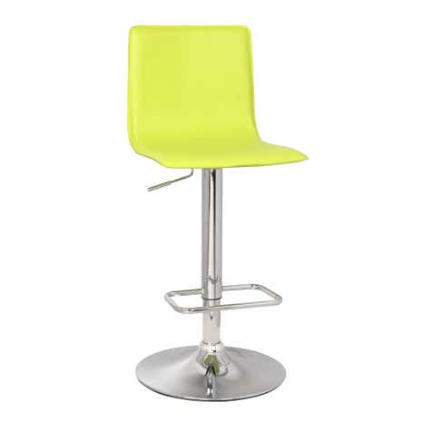 Aura Upholstered Green Bar Stool