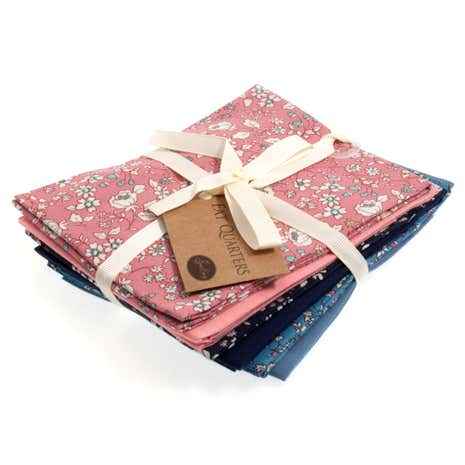 Delicate Floral Cotton Fat Quarters