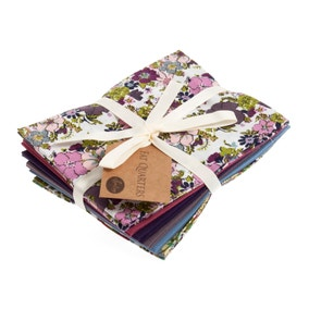 Floral Berry Cotton Fat Quarters