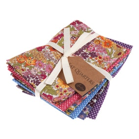 Country Garden Cotton Fat Quarters