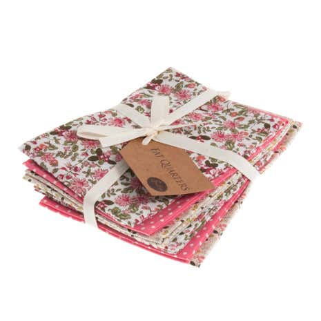Rose Floral Cotton Fat Quarters