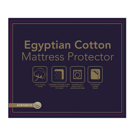 Egyptian Cotton Mattress Protector