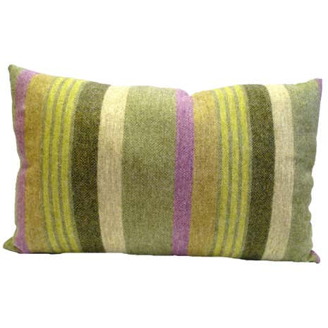 Misty Striped Cushion