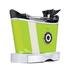 Bugatti Volo 13-VOLOCM/UK 2 Slice Green Toaster