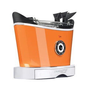 Bugatti Volo 13-VOLOCO/UK 2 Slice Orange Toaster
