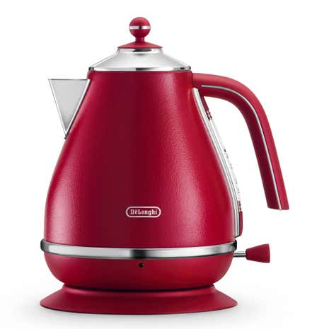 DeLonghi Elements Kettle 1.7L Red KBOE3001.R