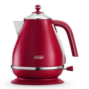 DeLonghi Elements KBOE3001.R 1.7L Red Kettle