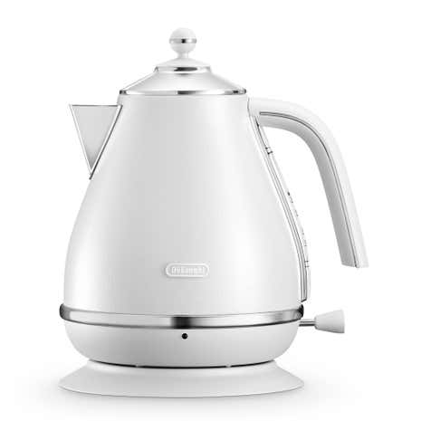 Delonghi Elements Kettle 1.7L Cloud White KBOE3001.W
