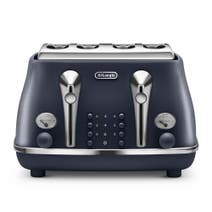Delonghi Elements Toaster Ocean Blue 4 Slice CTOE4003.BL