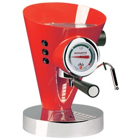Bugatti Diva Espresso Machine Red 15-DIVAC3/UK