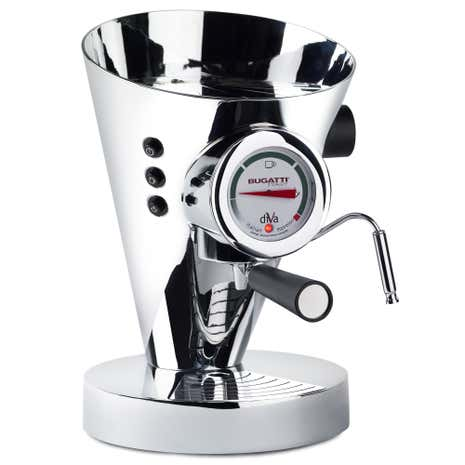 Bugatti Diva Espresso Machine Chrome 15-DIVACR/UK