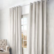 Natural Arizona Blackout Eyelet Curtains