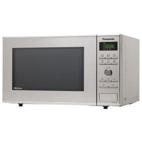 Panasonic NN-SD251WBPQ Stainless Steel 23L Solo Microwave