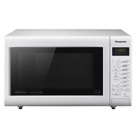 Panasonic NNCT555WBPQ 1000W White 27L 3 in 1 Combination Microwave Oven with Grill