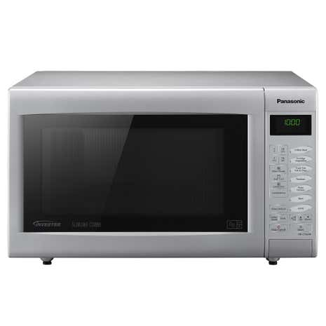 Panasonic NNCT565MBPQ Silver 3 in 1 Combination Microwave Oven and Grill