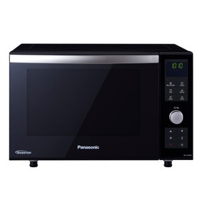 Panasonic NN-DF386BBPQ Black 3in1 Flatbed Microwave