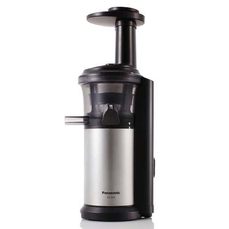 Slow Juicer Sorbetto : Panasonic MJL500SXC Silver Slow Juicer with Frozen Sorbet Attachment Dunelm