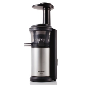 Panasonic MJL500SXC Silver Slow Juicer with Frozen Sorbet Attachment