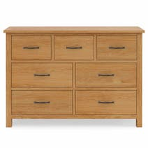 Sidmouth Oak 7 Drawer Chest