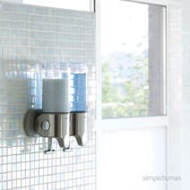 simplehuman Double Shower Soap Pump