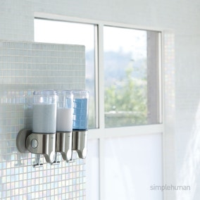 simplehuman Triple Shower Soap Pump
