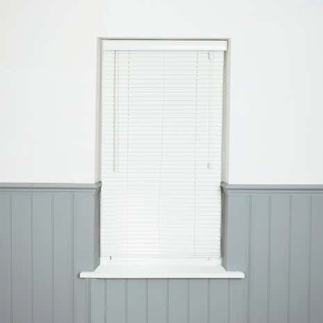 25mm Essentials Wood Effect Venetian Blind
