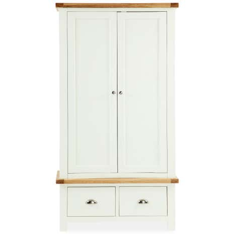 Wilby Cream Double Wardrobe