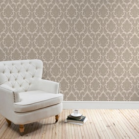 Natural Versailles Wallpaper