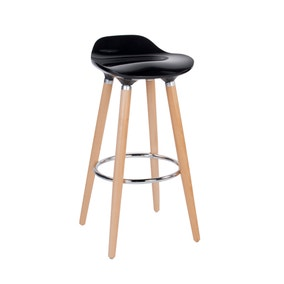 Black Harry Bar Stool