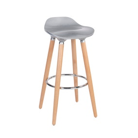 Grey Harry Bar Stool