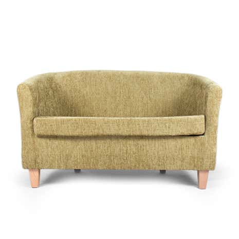 Maurice Lime 2 Seater Tub Chair