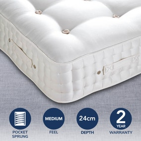 Dorma Buckingham 4000 Pocket Sprung Medium Mattress