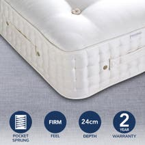 Dorma Buckingham 4000 Pocket Sprung Firm Mattress