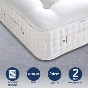 Dorma Buckingham 5000 Pocket Sprung Medium Mattress