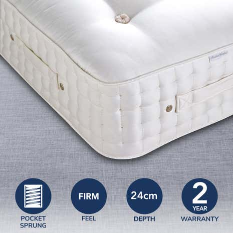 Dorma Buckingham 5000 Pocket Sprung Firm Mattress