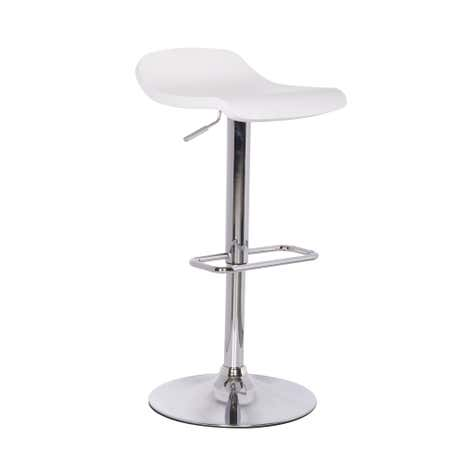 White Neptune Wooden Seat Bar Stool
