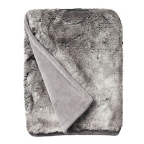 Verbier Faux Fur Throw