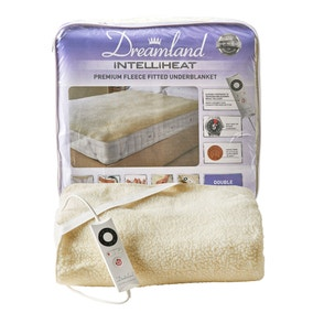 Dreamland Intelliheat Premium Fleece Electric Underblanket