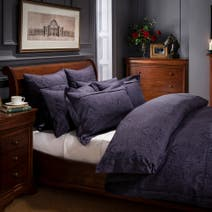 Dorma Paisley Navy Duvet Cover Set