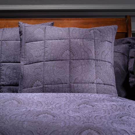 Dorma Paisley Navy Continental Pillowcase