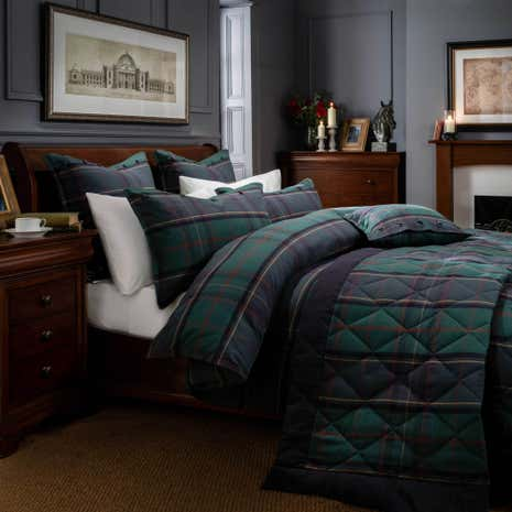 Dorma Lomond Duvet Cover and Pillowcase Set