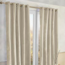 Alaska Natural Thermal Eyelet Curtains