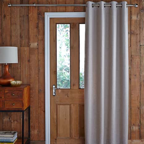 Harris Natural Thermal Door Curtain