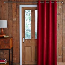 Harris Red Thermal Door Curtain