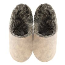 Mens' Suedette Mule Slippers