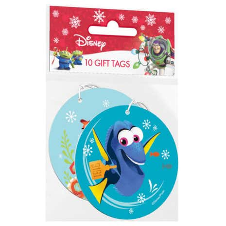 Pack of 10 Disney Finding Dory Gift Tags