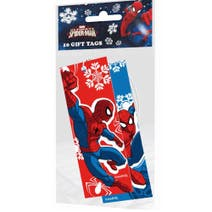 Pack of 10 Marvel Spiderman Gift Tags