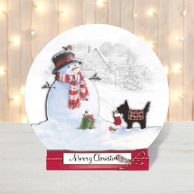 Pack of 5 Snow Globe Christmas Cards