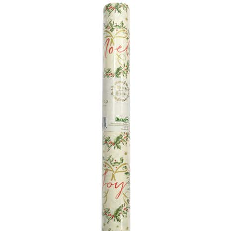 Traditional Holly 8 Metre Gift Wrap